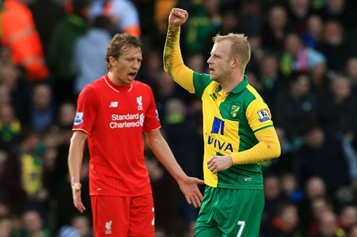 Norwich 4-5 Liverpool: Kich tinh o phut bu gio hinh anh