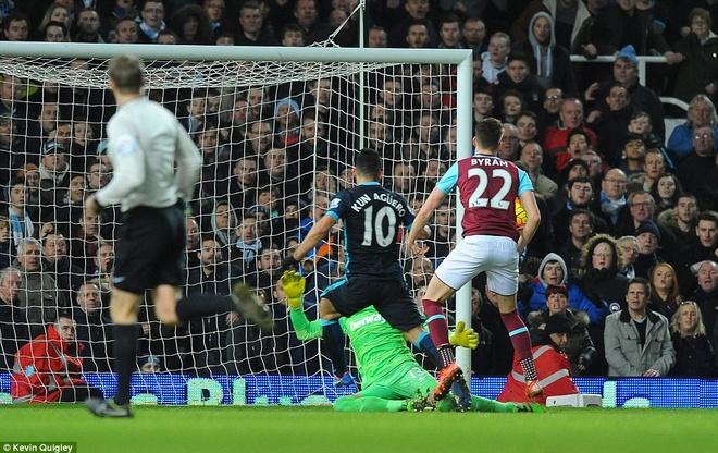 Aguero lap cu dup giup Man City thoat thua West Ham hinh anh 9