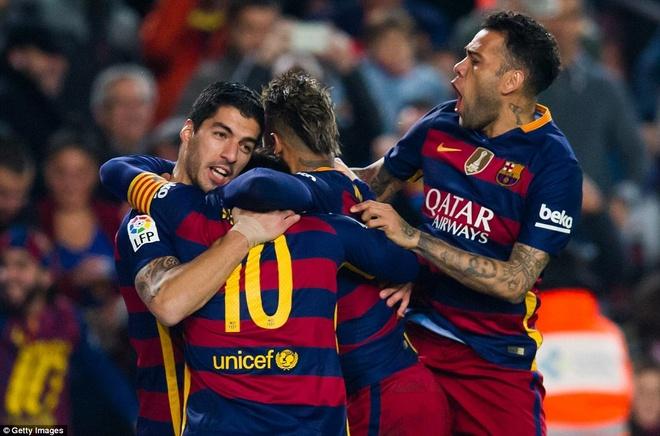 Suarez va Neymar dua Barca vao ban ket cup nha Vua hinh anh 5
