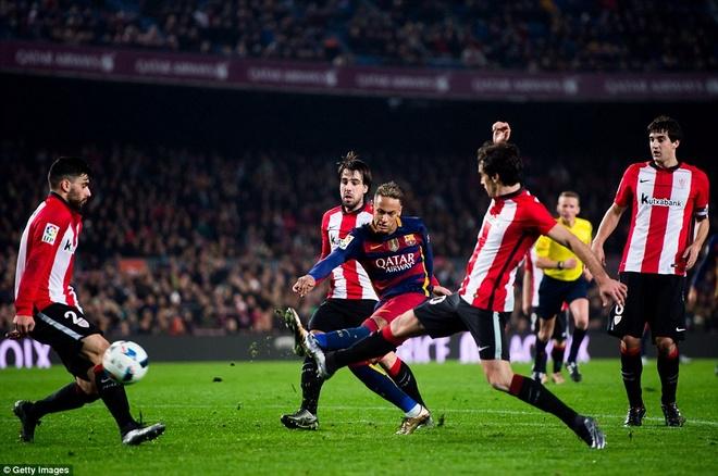 Suarez va Neymar dua Barca vao ban ket cup nha Vua hinh anh 8