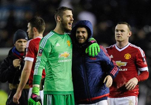 Rooney va Mata ghi ban, MU vao vong 5 FA Cup hinh anh