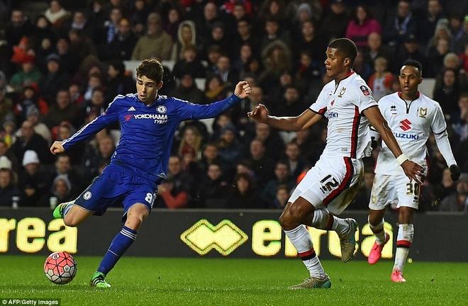 Oscar ghi 3 ban, Chelsea vao vong 5 cup FA hinh anh 6