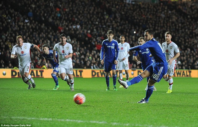 Oscar ghi 3 ban, Chelsea vao vong 5 cup FA hinh anh 7