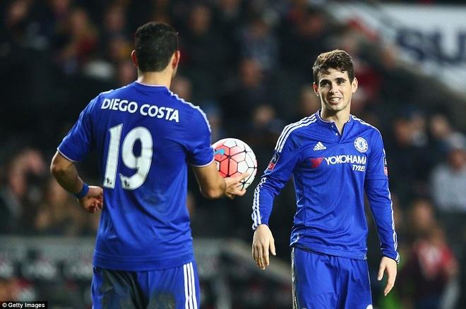 Oscar ghi 3 ban, Chelsea vao vong 5 cup FA hinh anh 9