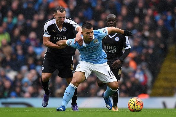 Aguero ghi ban, Man City van thua Leicester 1-3 hinh anh 4