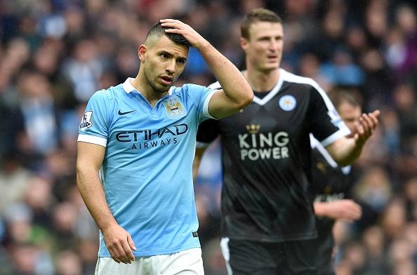 Aguero ghi ban, Man City van thua Leicester 1-3 hinh anh 5