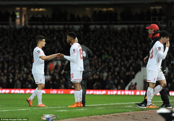 Thua 1-2 sau 120 phut, Liverpool dung buoc o FA Cup hinh anh 11