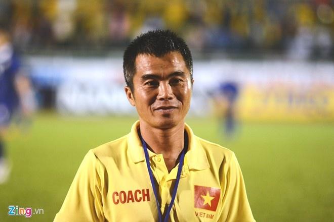 Tien Dung la thu linh U21 Viet Nam anh 1