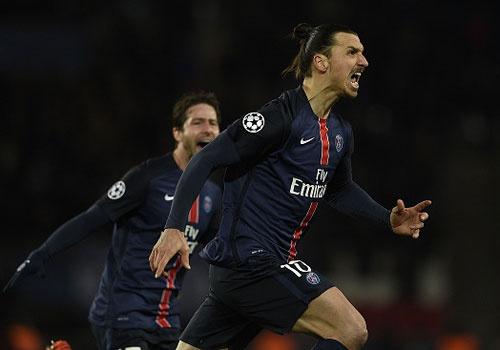 Ibrahimovic va Cavani giup PSG thang Chelsea 2-1 hinh anh