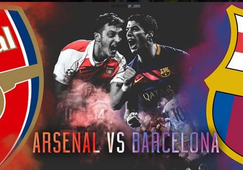 Arsenal - Barcelona: Tran dau cua bong da dep hinh anh