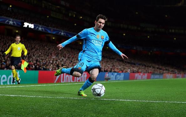 Messi giup Barca thang Arsenal 2-0, Juve hoa Bayern 2-2 hinh anh 10