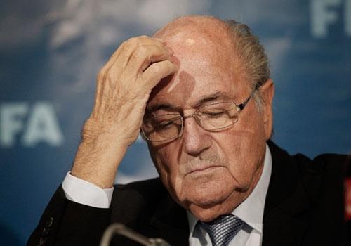 Bau Chu tich FIFA thay Sepp Blatter hinh anh