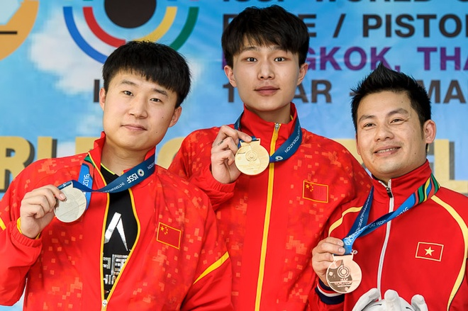 Thang tay sung so 1 the gioi, Minh Thanh gianh HCD World Cup hinh anh 1