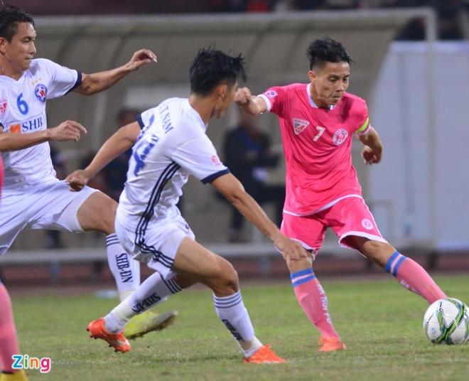 HAGL thua tran thu hai, CLB Ha Noi thang Da Nang 3-0 hinh anh 1