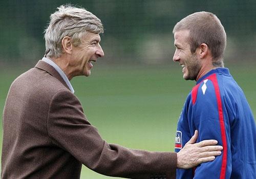 David Beckham chi trich CDV Arsenal hinh anh