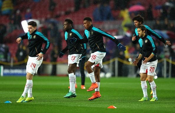 Messi, Neymar va Suarez giup Barca thang Arsenal 3-1 hinh anh 7
