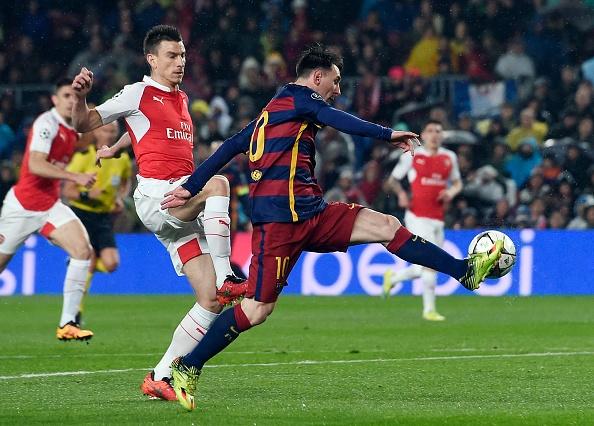 Messi, Neymar va Suarez giup Barca thang Arsenal 3-1 hinh anh 13
