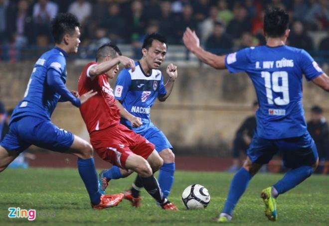 DT Viet Nam 4-0 Quang Ninh: Cong Vinh lap hat-trick hinh anh 12