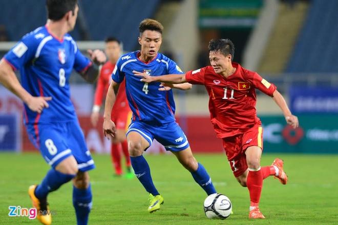 DTVN 4-1 Dai Loan: Cong Vinh va Van Toan lap cu dup hinh anh 21