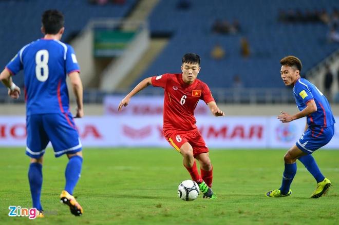 DTVN 4-1 Dai Loan: Cong Vinh va Van Toan lap cu dup hinh anh 22