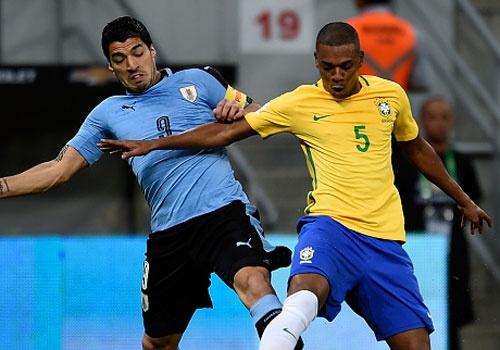 Highlights Brazil 2-2 Uruguay hinh anh