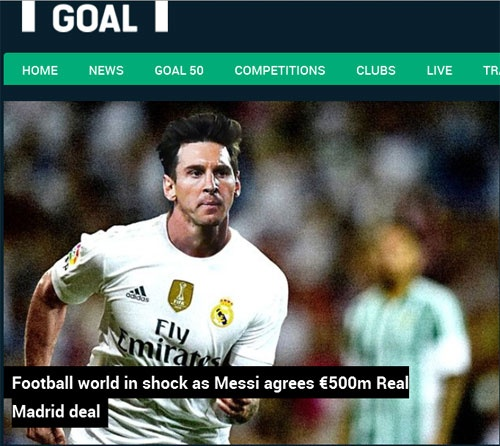 Trang Goal dua tin Messi chia tay Barcelona hinh anh 1