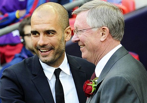 Pep Guardiola nhu 'bo gia' Sir Alex Ferguson hinh anh