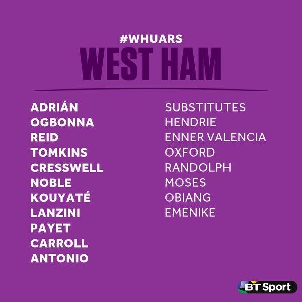West Ham 3-3 Arsenal: Carroll lap hat-trick hinh anh 3