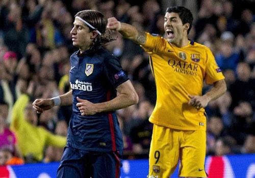 Lich thi dau tu ket cup C1: Atletico Madrid vs Barcelona hinh anh