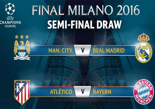 Ban ket cup C1: Man City vs Real, Atletico vs Bayern hinh anh 1