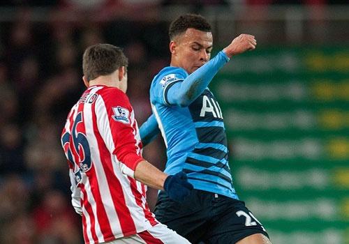 Highlights Stoke 0-4 Tottenham hinh anh