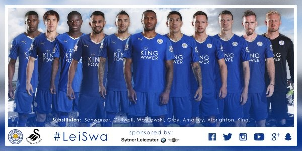 Leicester vs Swansea (4-0): Chien thang an tuong hinh anh 5