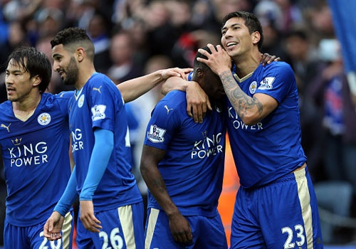 Leicester vs Swansea (4-0): Chien thang an tuong hinh anh