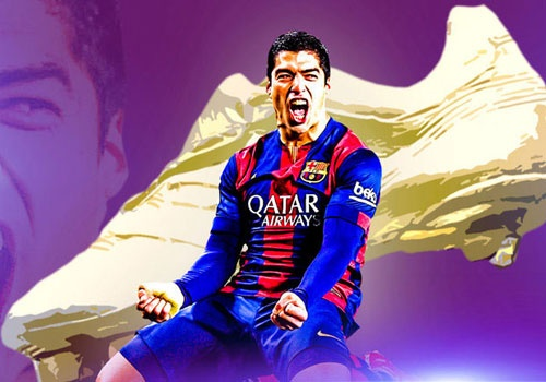 Ronaldo vs Suarez: Cuoc chien vi danh hieu giay vang chau Au hinh anh