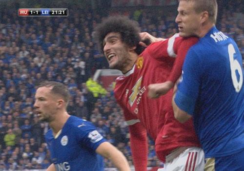 Fellaini doi dien an phat nang sau tran MU hoa Leicester hinh anh