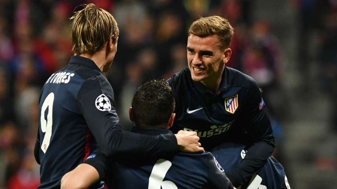 Atletico Madrid phan khich sau khi loai Bayern Munich hinh anh 1