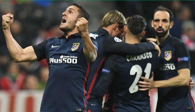 Atletico Madrid phan khich sau khi loai Bayern Munich hinh anh 2