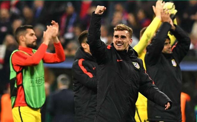 Atletico Madrid phan khich sau khi loai Bayern Munich hinh anh 9