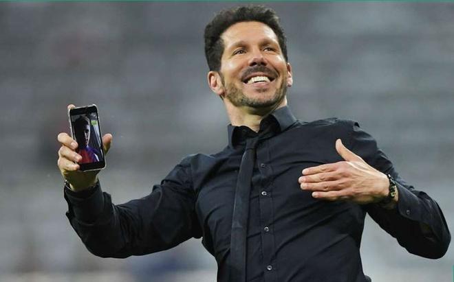 Atletico Madrid phan khich sau khi loai Bayern Munich hinh anh 10
