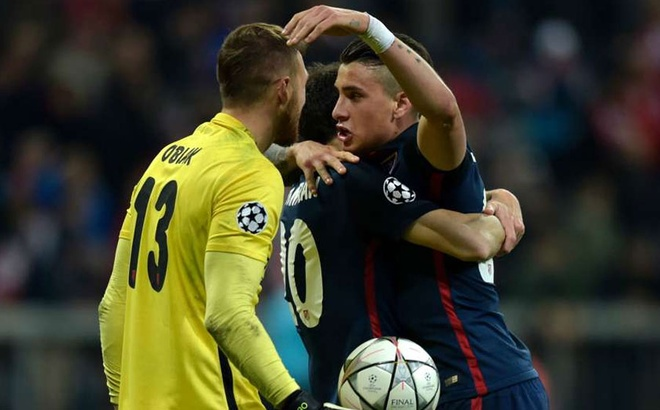 Atletico Madrid phan khich sau khi loai Bayern Munich hinh anh 3