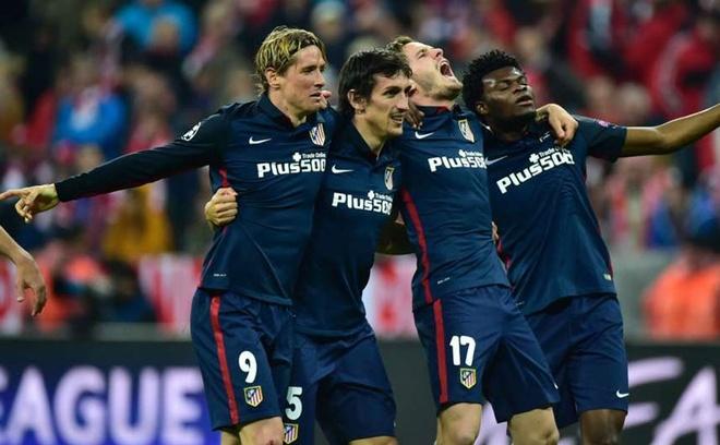 Atletico Madrid phan khich sau khi loai Bayern Munich hinh anh 4