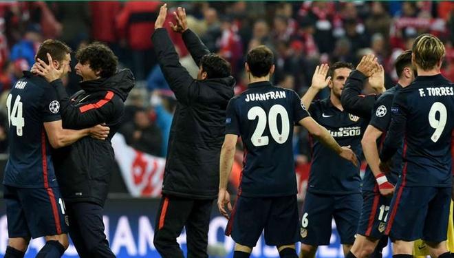 Atletico Madrid phan khich sau khi loai Bayern Munich hinh anh 7