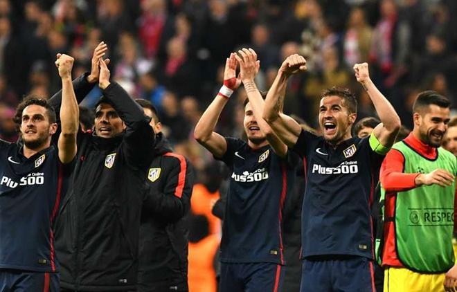 Atletico Madrid phan khich sau khi loai Bayern Munich hinh anh 8