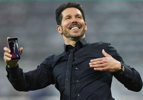 Atletico Madrid phan khich sau khi loai Bayern Munich hinh anh