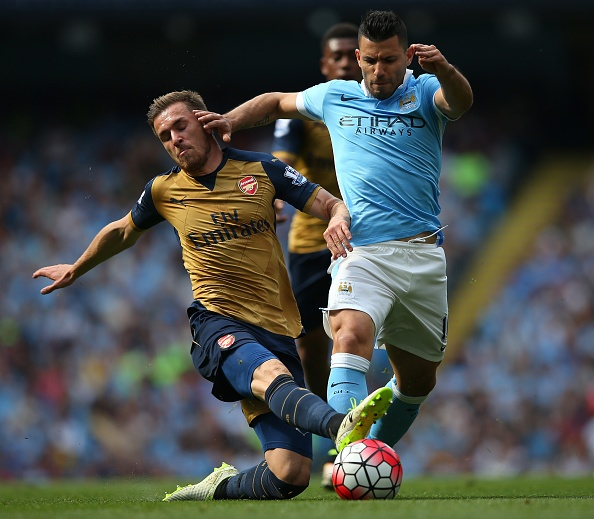 Man City vs Arsenal (2-2): Man xanh lo mat vi tri thu 4 hinh anh 13