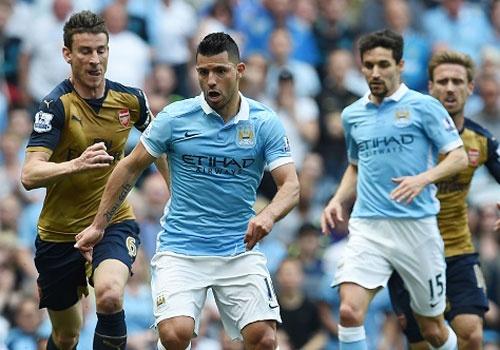 Man City vs Arsenal (2-2): Man xanh lo mat vi tri thu 4 hinh anh