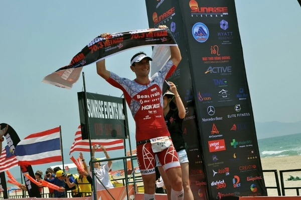 Ironman 70.3 Viet Nam - cuoc thi thu thach the luc cua VDV hinh anh 34