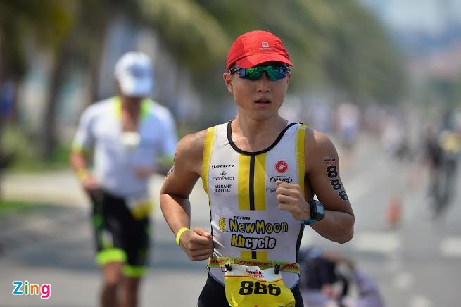 Ironman 70.3 Viet Nam - cuoc thi thu thach the luc cua VDV hinh anh 29