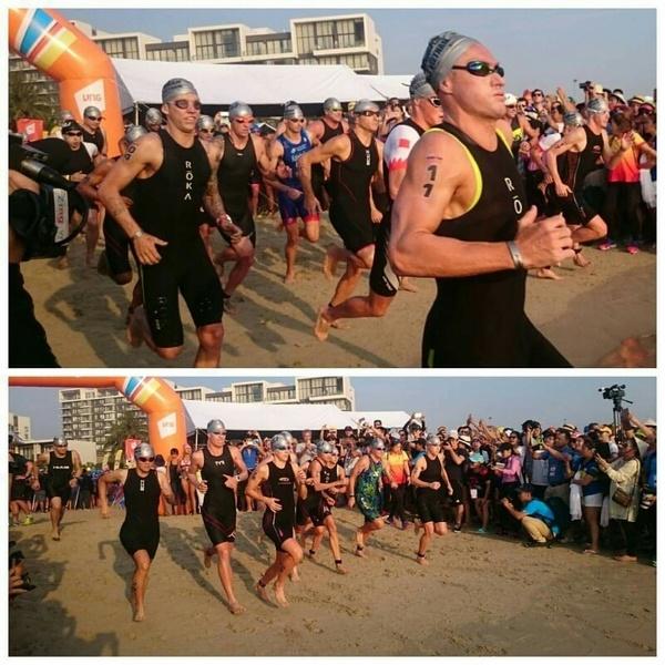Ironman 70.3 Viet Nam - cuoc thi thu thach the luc cua VDV hinh anh 5