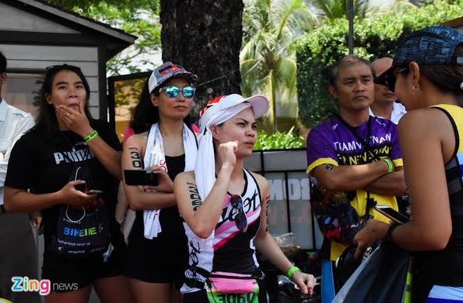 Ironman 70.3 Viet Nam - cuoc thi thu thach the luc cua VDV hinh anh 43